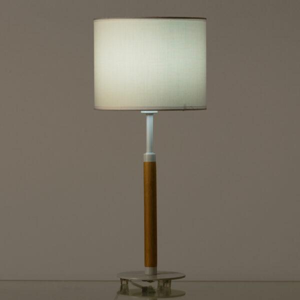 Lámpara Sobremesa Estilo Nórdico 22 x 22 x 52 cm
