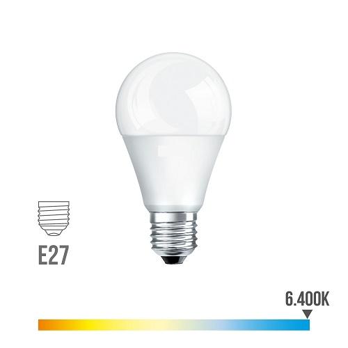 Bombilla Led Esférica 10w E27 Luz Fría 6400K