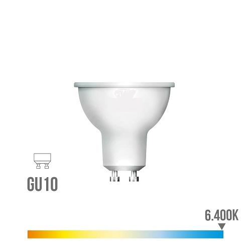 Bombilla Led Gu10 5w Luz Fría 6400K