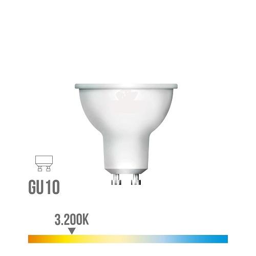 Bombilla led Gu10 5w Luz Cálida 3200K