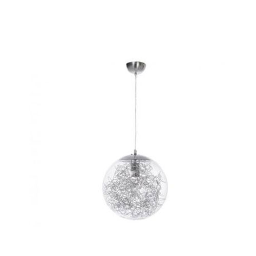 Colgante Cristal Alambre 30 cm
