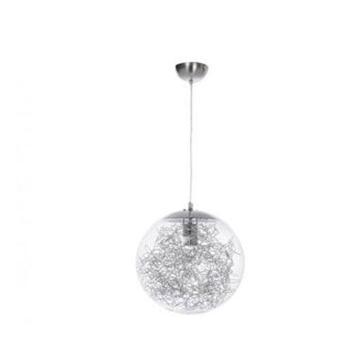 Colgante Cristal Alambre 40 cm