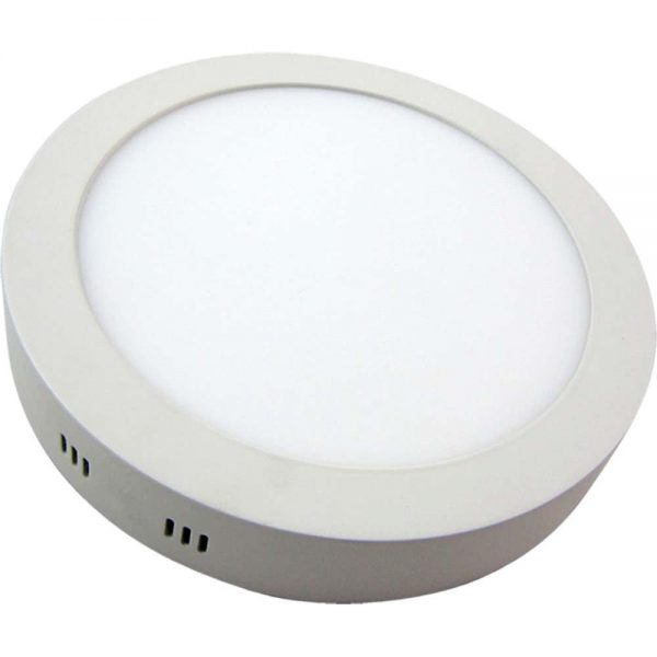 Downlight Superficie Redondo 24W 6000K