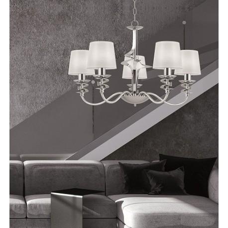 Lámpara Abanico 5 Luces