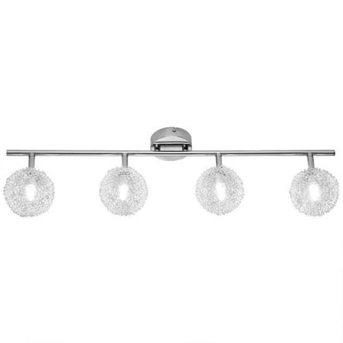 Lámpara – Plafón Ball 4 Luces Cromado