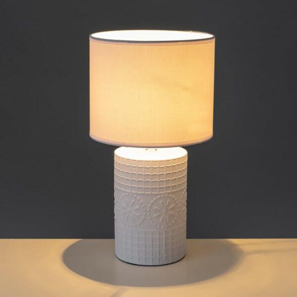 Lámpara Sobremesa Cerámica 20 x 20 x 36 cm