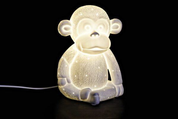 Lámpara Sobremesa Mono 16 x 16 x 21 cm