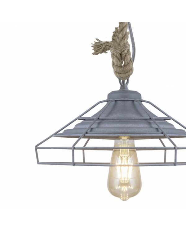 Lámpara Colgante Metal 32 x 32 x 50 cm