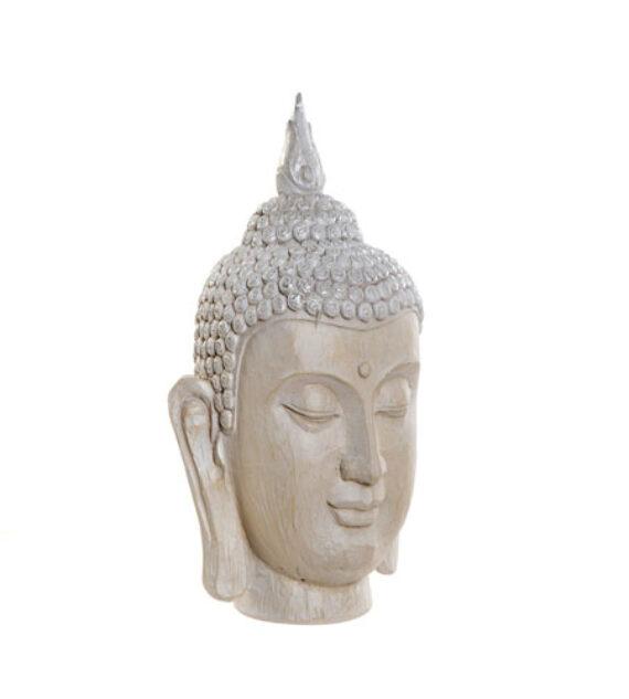 Cabeza Buda Resina 22 x 19 x 33 cm
