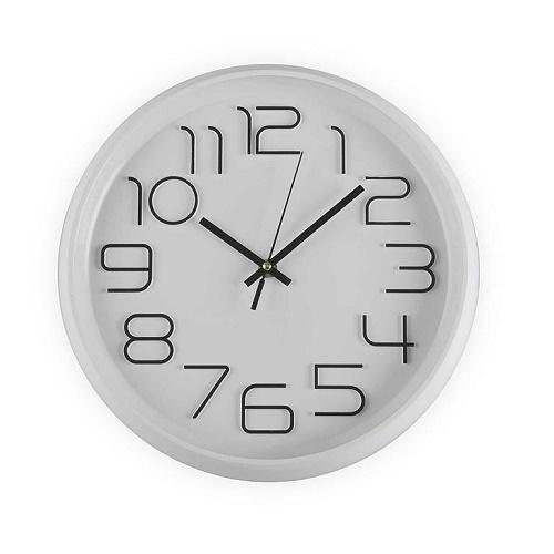 Reloj Pvc Blanco 30 cm