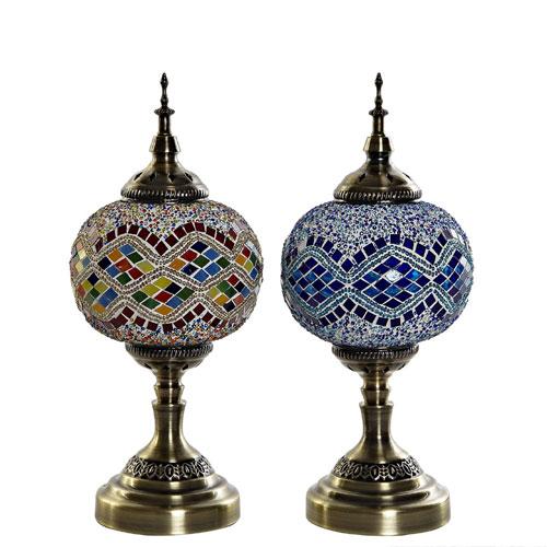 Lámpara Sobremesa Árabe 18 x 18 x 36 cm