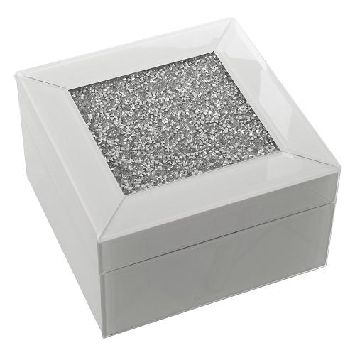 Caja Cristal Brillos 14 x 14 x 8 cm