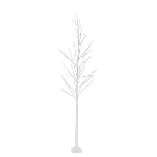 Árbol led Pvc blanco 60 x 150 cm