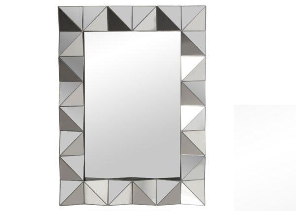 Espejo Melamina Plateado 55 x 74 cm