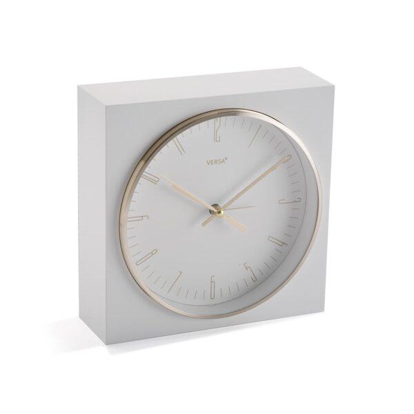 Reloj Cuadrado Blanco