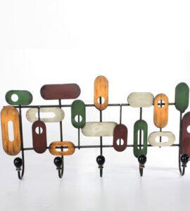 Perchero Pared Multicolor 60 x 38 cm