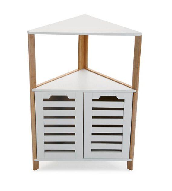 Mueble Esquinero Blanco Madera 53 x 28 x 80 cm