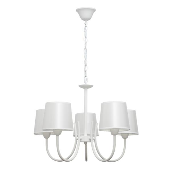Lámpara Forja Blanco 88 x 56 x 56 cm