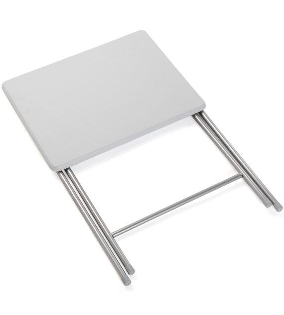 Mesa Plegable Blanca 47,5 x 37,5 x 65,5 cm