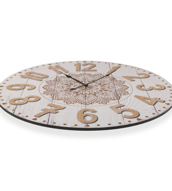 Reloj Pared Madera 58 cm