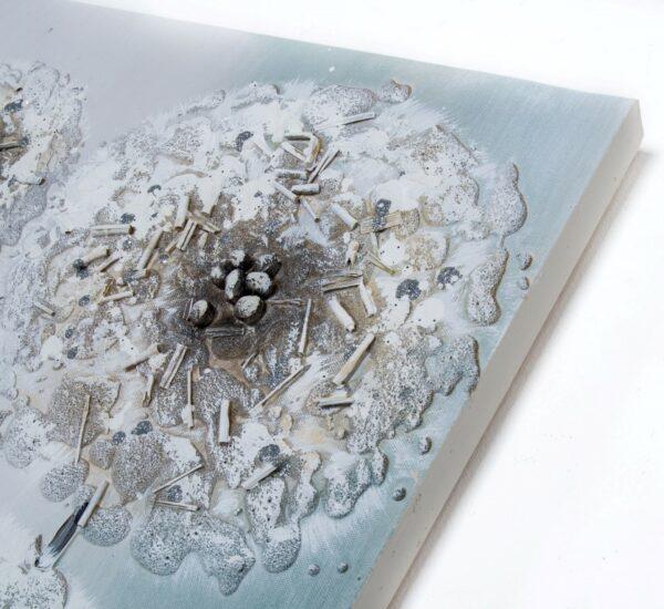 Cuadro Lienzo Flor 140 x 60 cm
