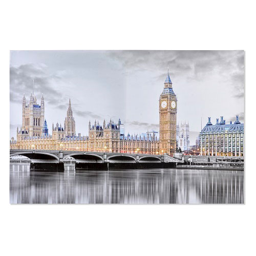Cuadro Lienzo London Brillante 150 x 100 cm