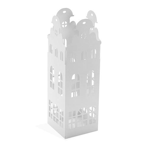 Paragüero Metal Blanco 49 x 15 cm