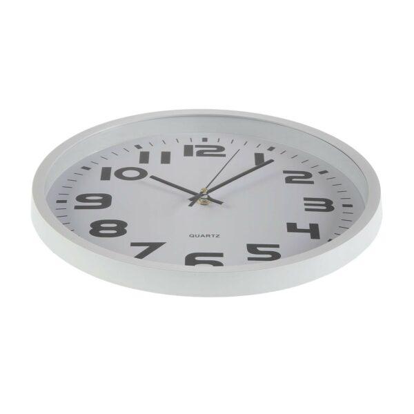 Reloj Pared Pvc Blanco 30 cm