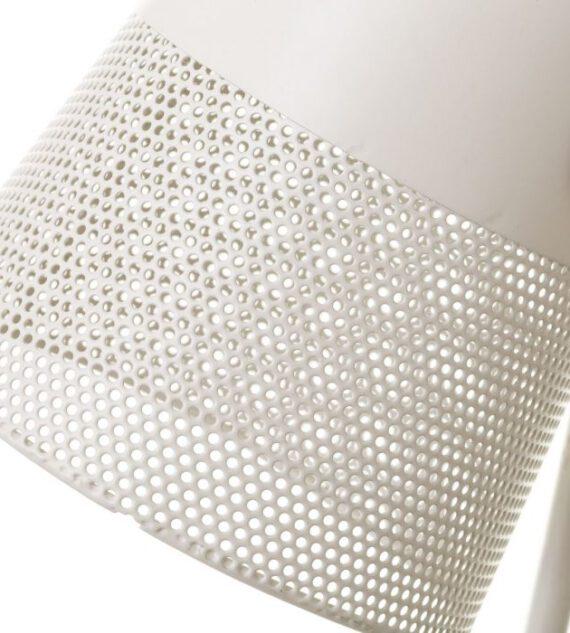 Lámpara Sobremesa Metal Blanco 18 x 15 x 38 cm