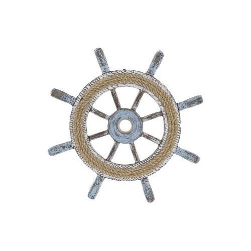 Timón Madera Cuerda 40 x 3 x 40 cm