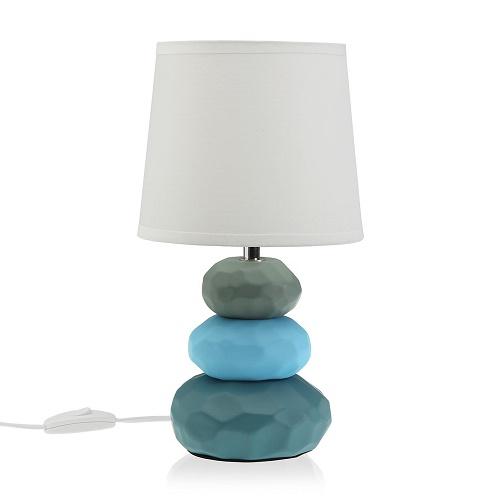 Lámpara Sobremesa Cerámica Color 30 x 16,5 cm