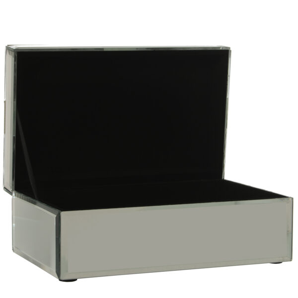 Caja Espejo Brillante 21 x 13 x 8 cm