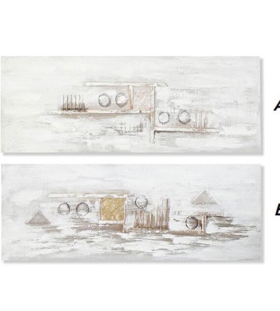 Cuadro Lienzo Abstracto 150 x 50 cm