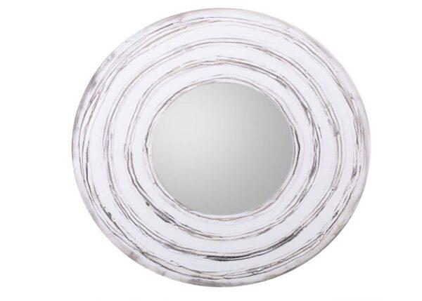 Espejo Madera Redondo 80 cm