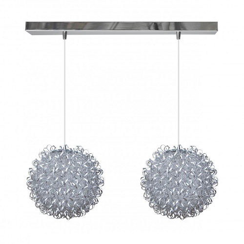 Lámpara Metal Rizada 20 cm