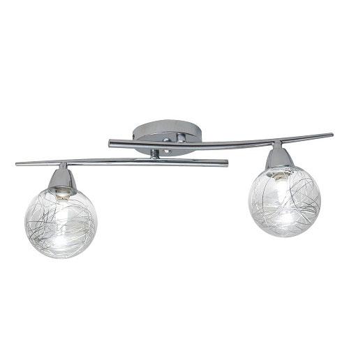 Lámpara – Plafón Alaba 2 Luces