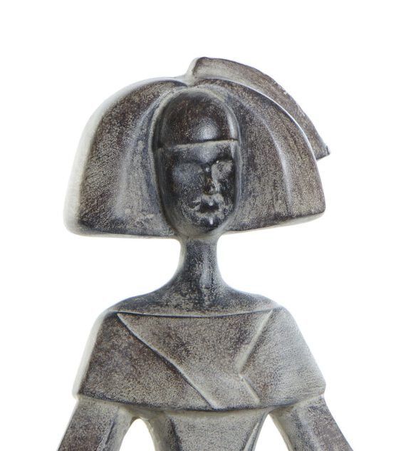 Figura Menina Resina 24 x 15 x 29 cm