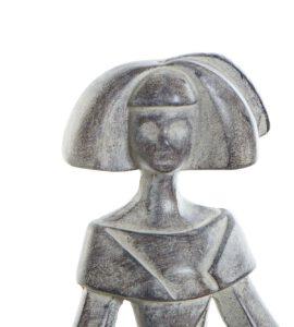 Figura Menina Resina 12 x 8 x 17 cm