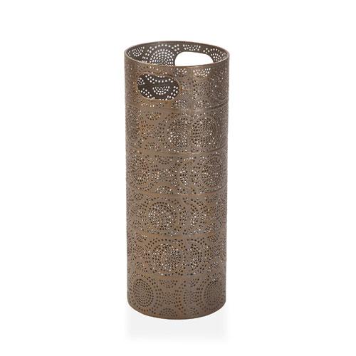 Paragüero Metal Dorado 48 x 20 cm